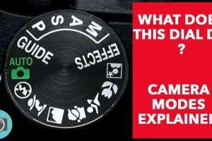 Digital Camera Modes Explained(VIDEO) Basics Tips-Camera Guide