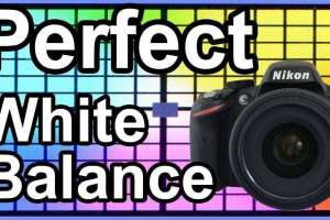 Preset White Balance Settings(VIDEO)