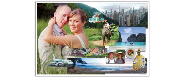 Wedding Art Photo Collage