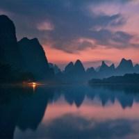 The dawn of Li river
