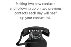 How to create a Doterra contact list