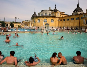 Budapest, baths, hot springs