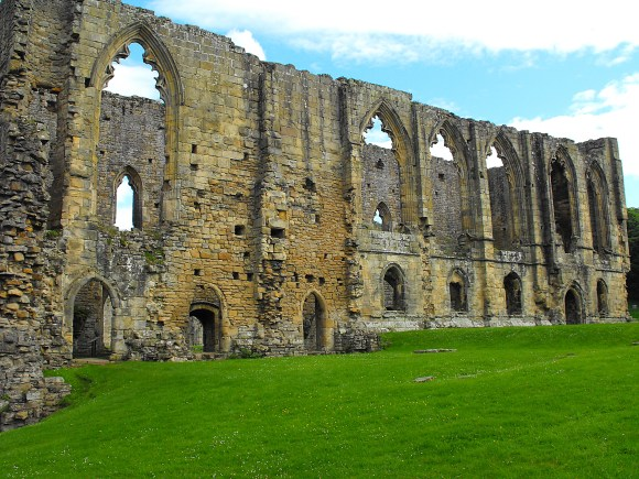 Historic Easby Abbey