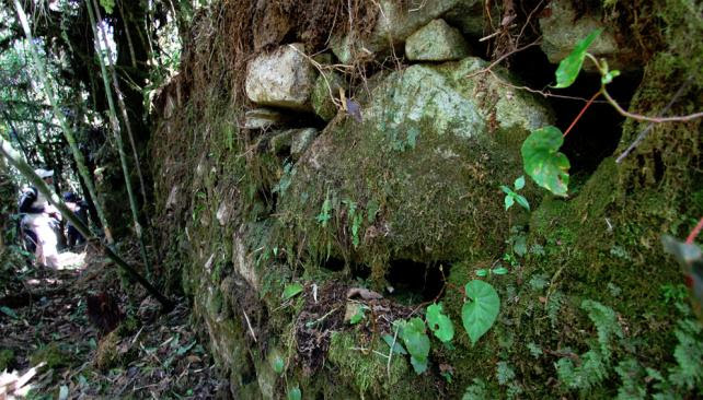 The new section of the Inca Trail that researchers discovered4