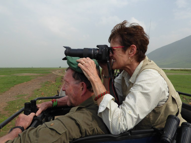 Ngorongoro Crater picture taking