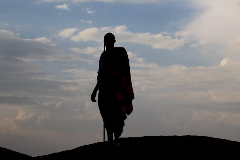 Masai silhouette