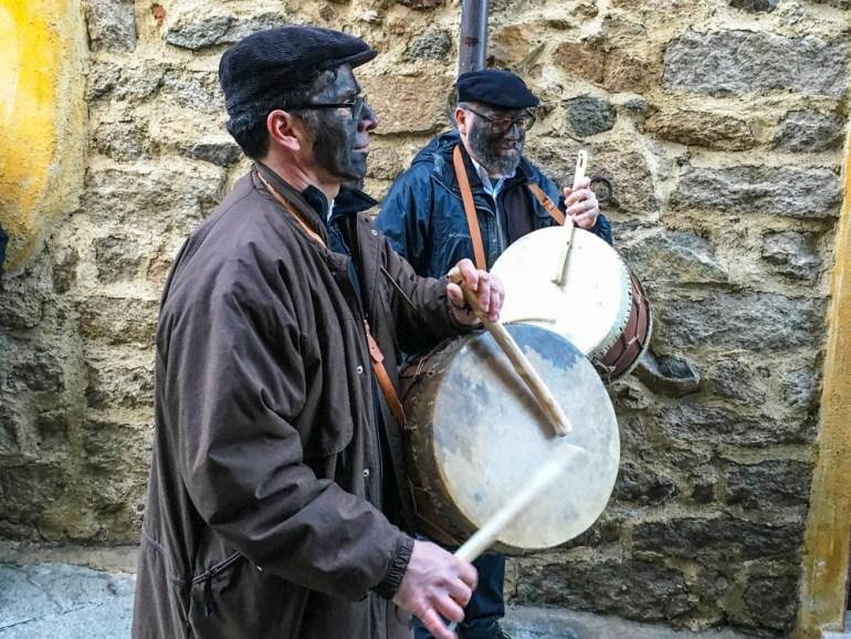 Drummers in Sardinia