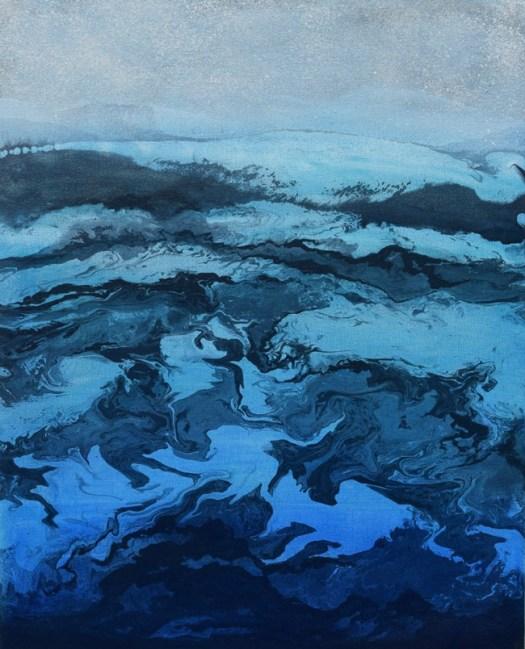 """Aegean"" painting by Tana Hakanson"