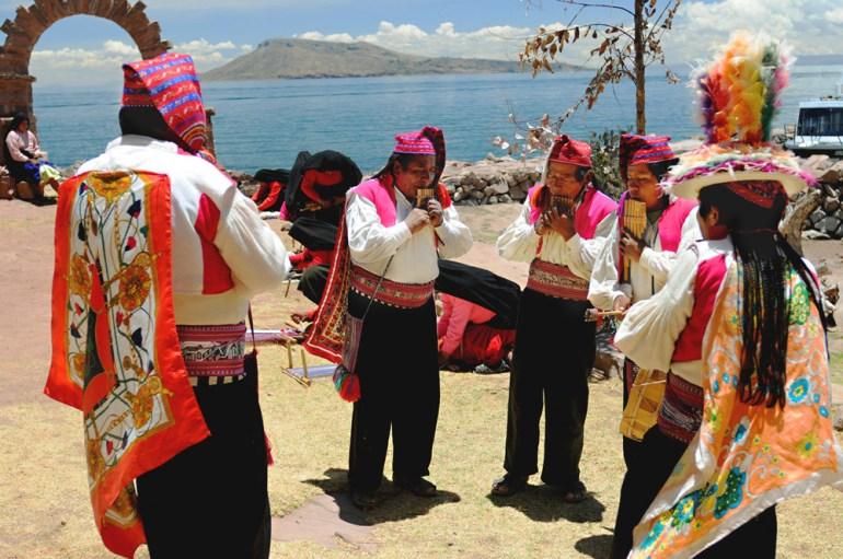 Taquili Island, Lake Titicaca, Peru