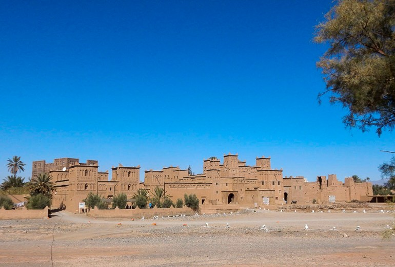 Old casbah near Ouarzazate