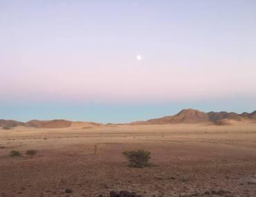 Desert Homestead Landscape Namibia