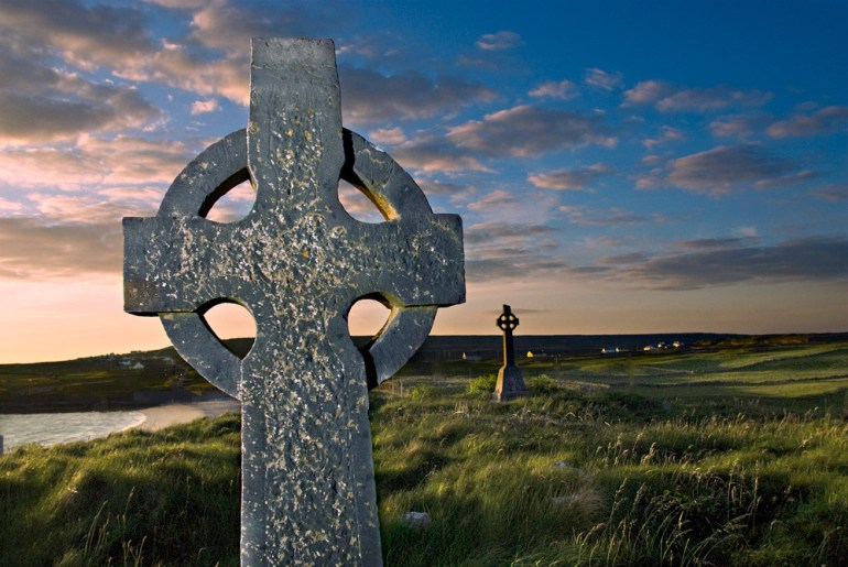 celtic cross in ireland