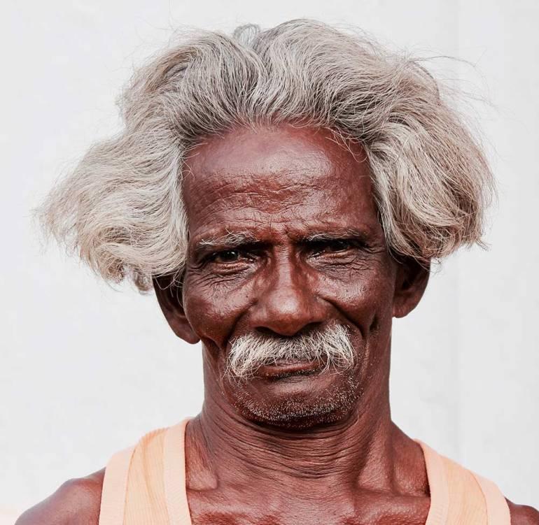 man in the Chettinad region India
