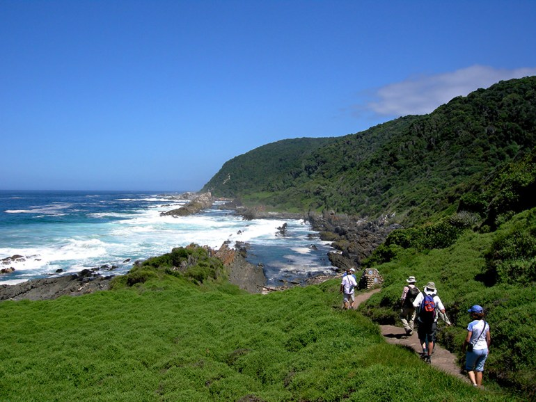 hike Tsitsikamma Coast, South Africa