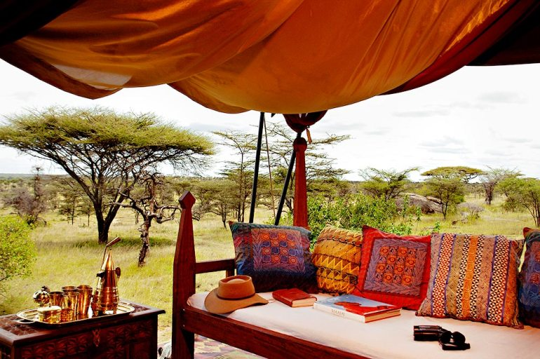 Private tented camps in africa