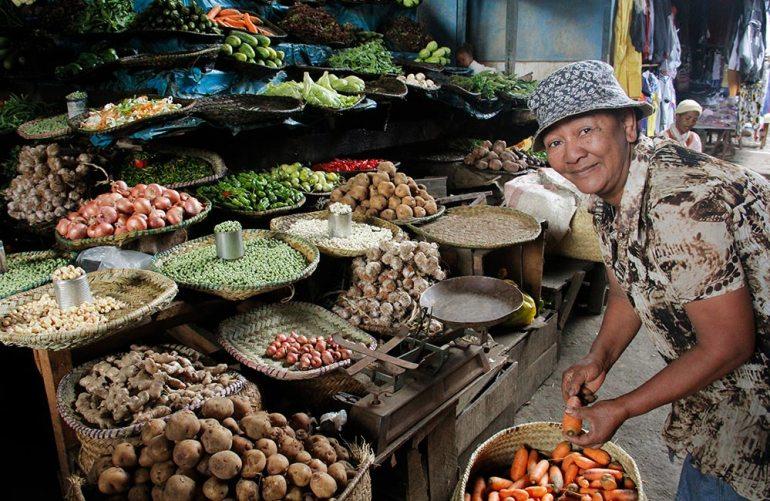 Market in Madagascar