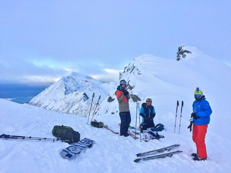 skiers in norway