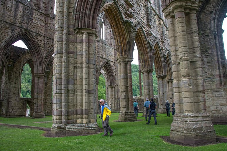 Cistercian abbey of Tintern, Wales