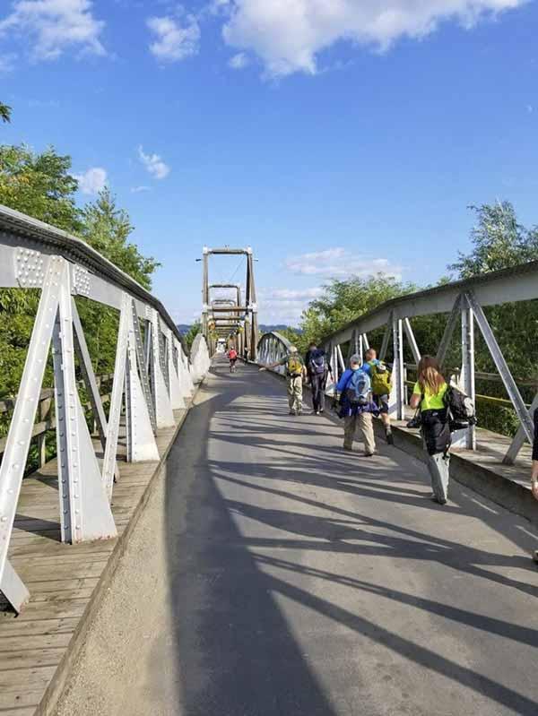 Tisza River Bridge
