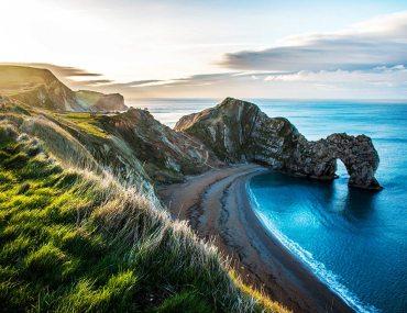 jurassic coast England coastal hike