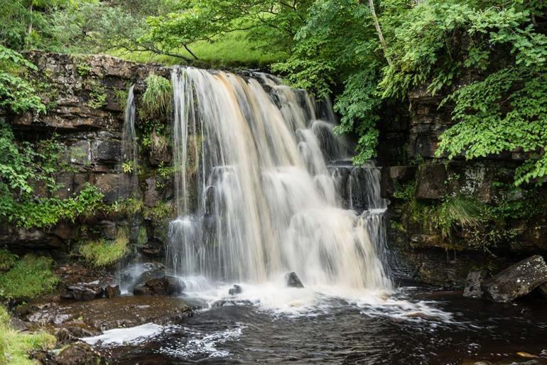 waterfall in England