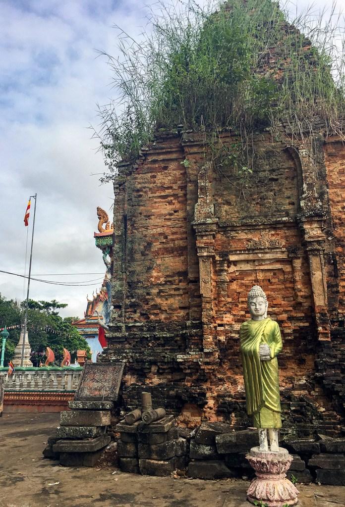 view near temple in cambodia