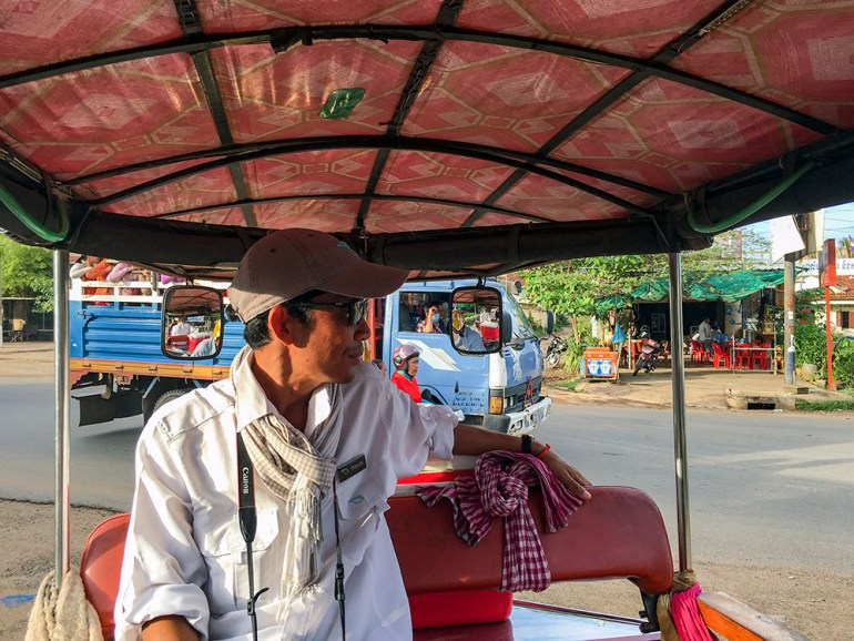 tuk tuk driver in cambodia