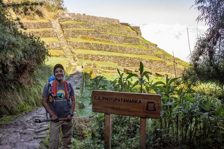 trip leader on the Inca Trail