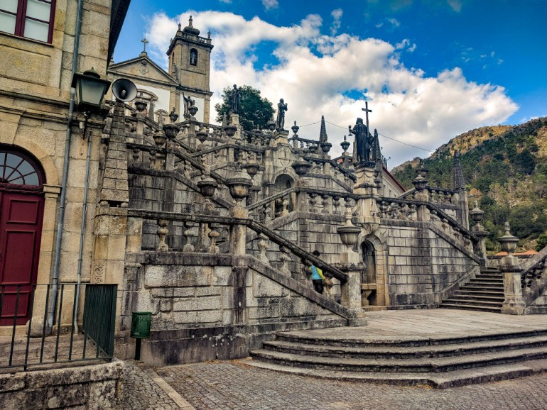 beautiful cathedral in portugal