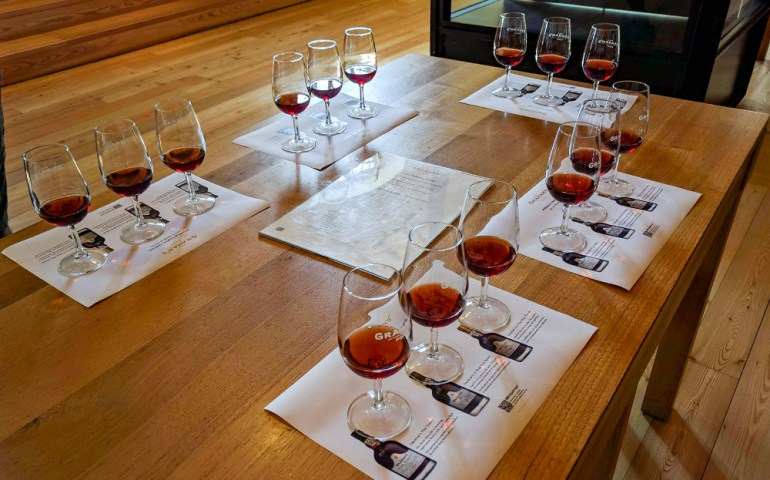 port wine tasting in portugal