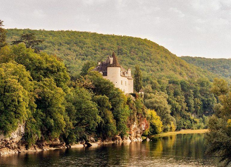 Chateau la Treyne in France
