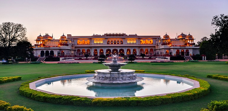 Taj Rambagh Palace in India