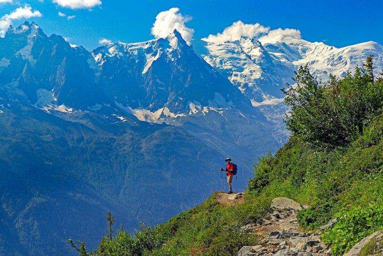 first hike outside of Chamonix