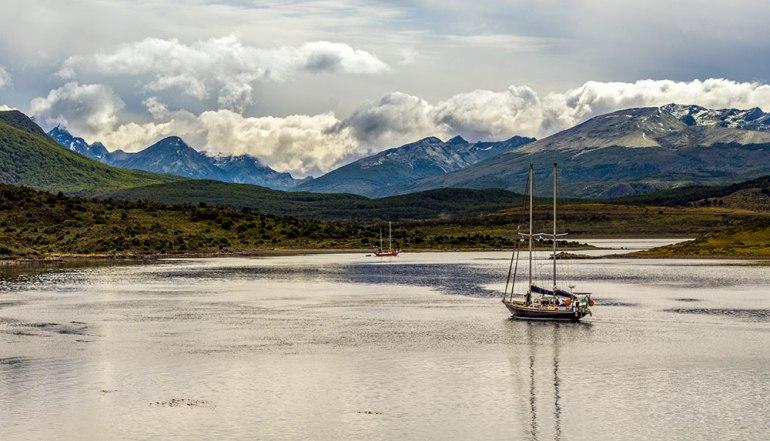 gable island in tierra del fuego patagonia