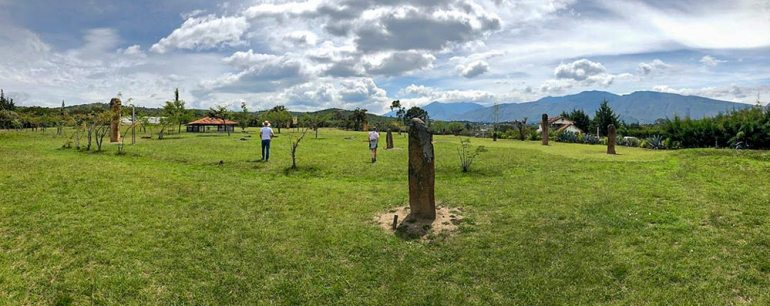muisca standing stones in colombia