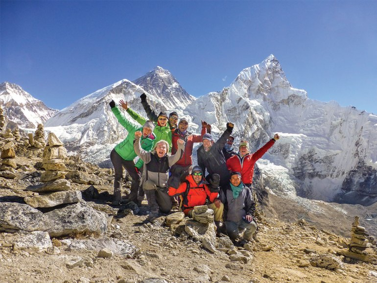 Great hikes of the world-everest base camp