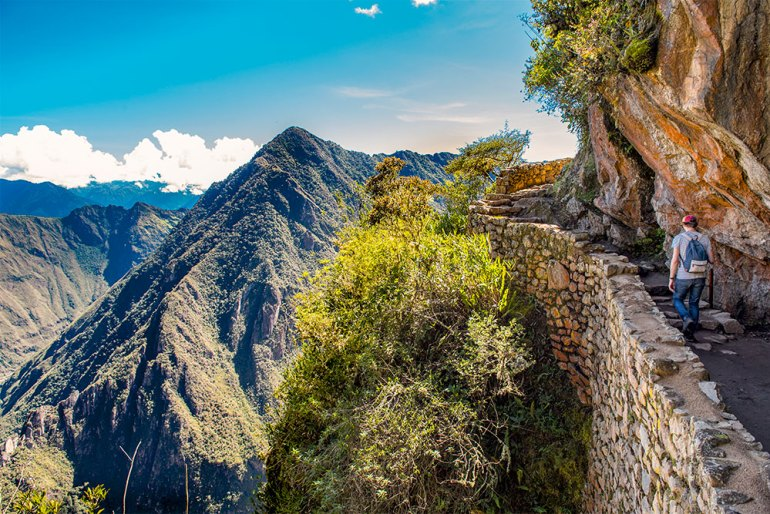 Great hikes of the world-inca trail peru