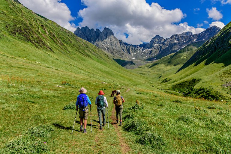 georgia and the caucasus, best place to travel in september