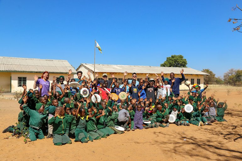 school group in zimbabwe