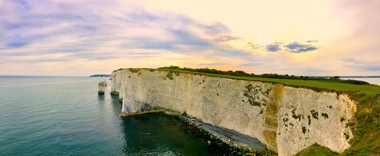 cliff on the jurassic coast