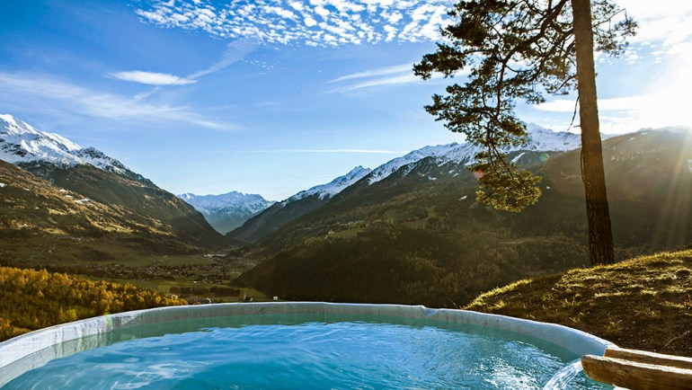 Italy hot springs