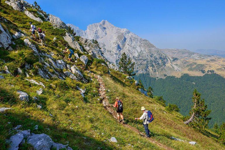 Montenegro hiking in europe