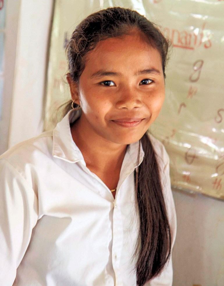 high school student in indochine