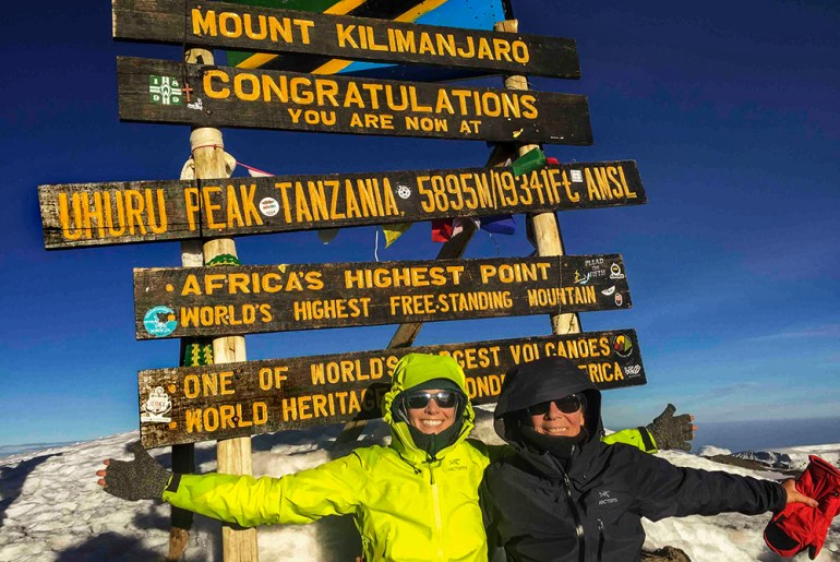 Climbing Kili: Like Grandmother, Mother, and Daughter