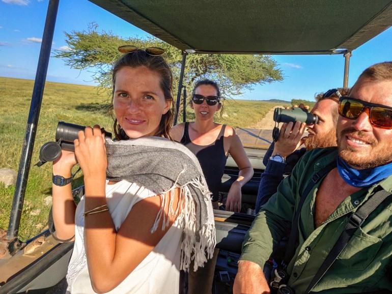 gameviewing in tanzania serengeti