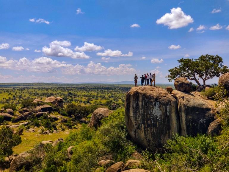 kojes walk in the serengeti tanzania