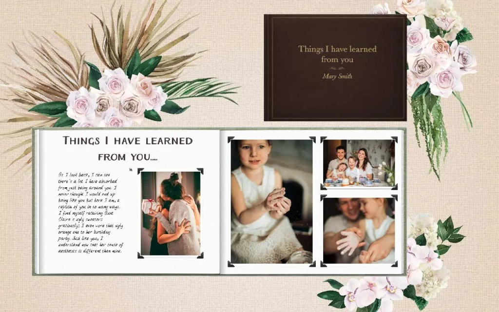 Mother's Day photobook gift ideas