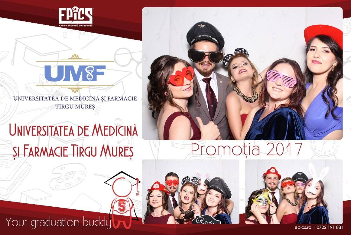 epics photobooth banchet facultatea de medicina UMF targu mures cabina foto deschisa