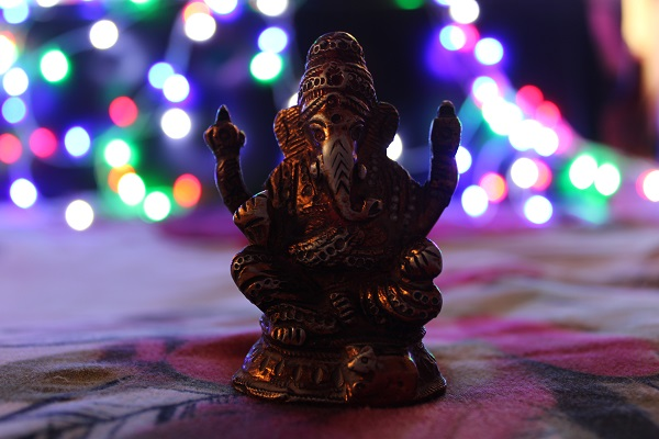 Bokeh Effect on Ganesh Chaturthi