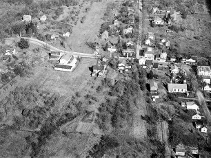 Aerial views of G'town 1948 1